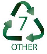 7 Other (kiti plastikai) Plastiko ženklas