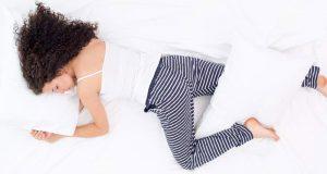 Sakalo poza - miegojimo padėtis (Sveikiausia poza)