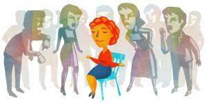 Kaip sumažinti stresą darbe (iliustracija)