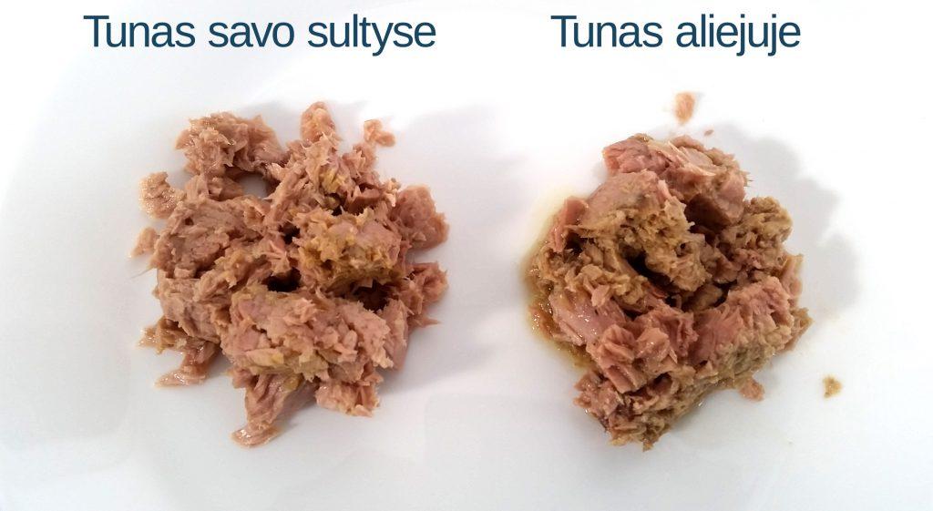 Tuno konservų palyginimas