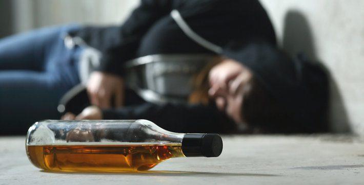 Alkoholio sukelta koma