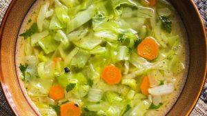 8 dienų dieta. Kopūstų sriuba