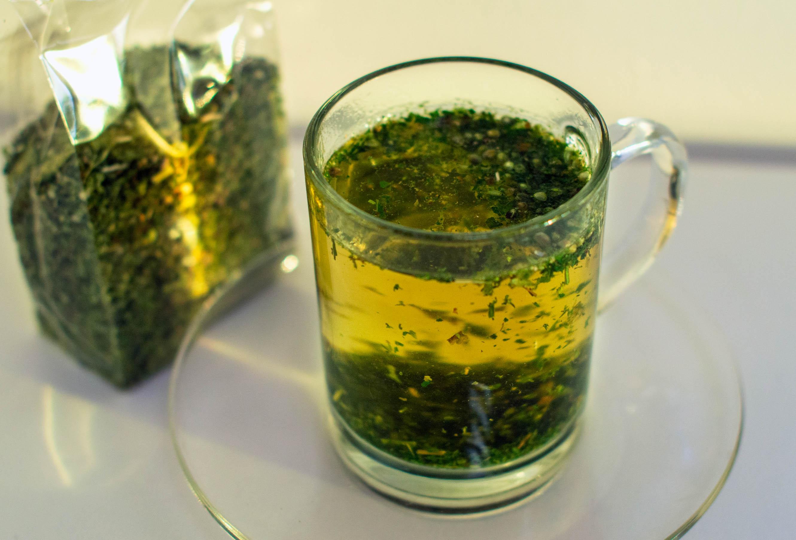 Kanapių arbata