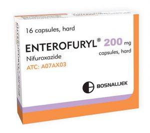 vaistai enterofuryl