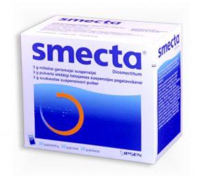 vaistai nuo viduriavimo smecta