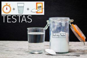 Skrandžio rūgštingumo testas su soda