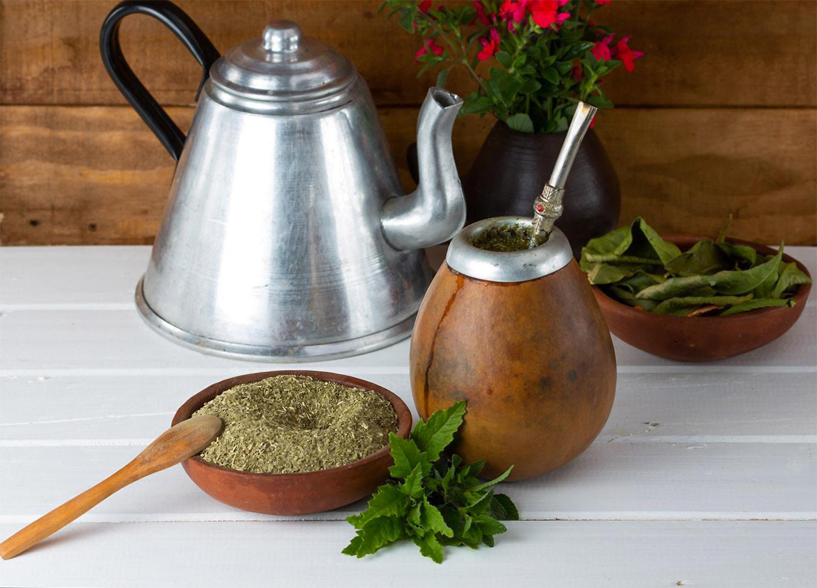 Yerba mate arbata