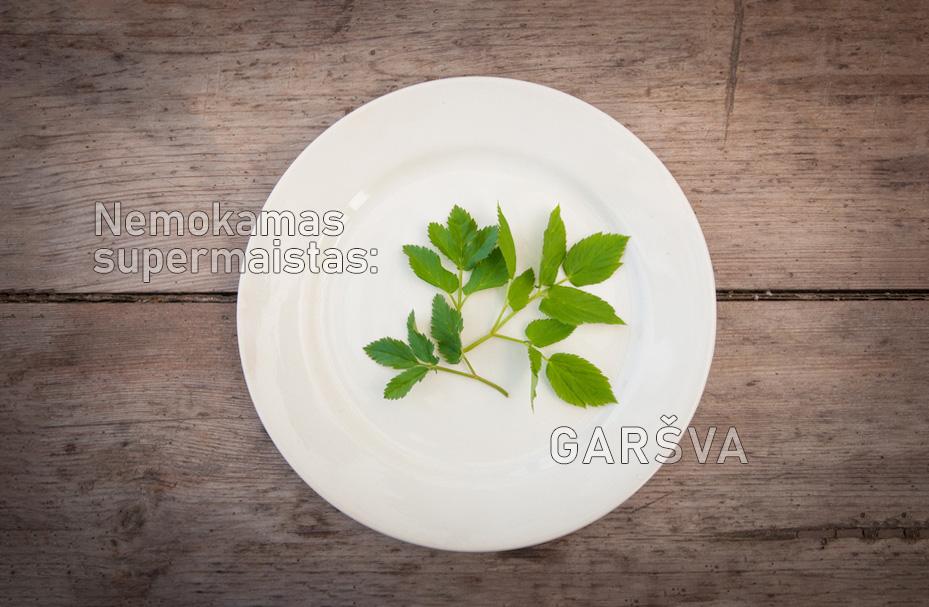Valgoma žolė garšva (supermaistas)