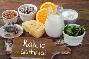 Kalcio šaltiniai maiste