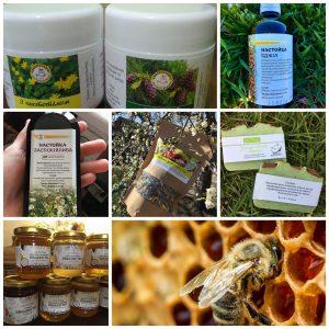 natūralūs bičių produktai